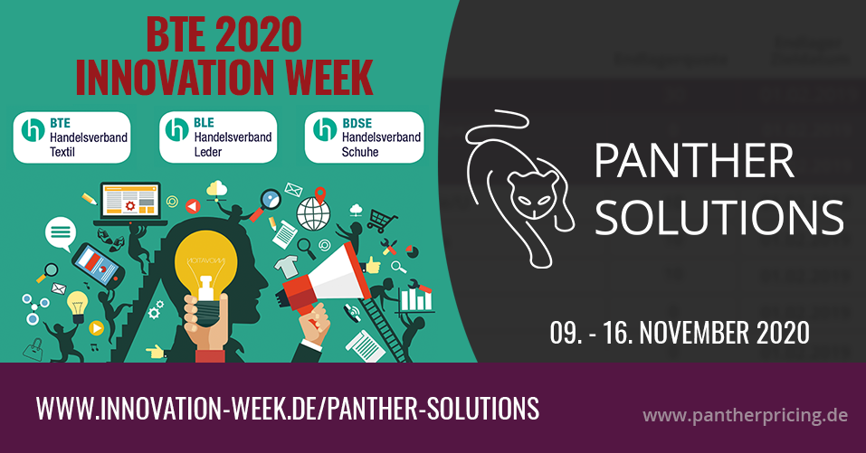 BTE Innovation Week 2020 Panther Solutions
