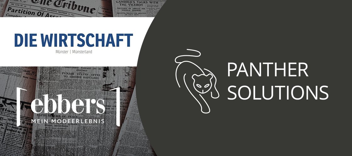Panther Solutions Die Wirtschaft Modehaus Ebbers Christoph Berger Nils Streitbuerger